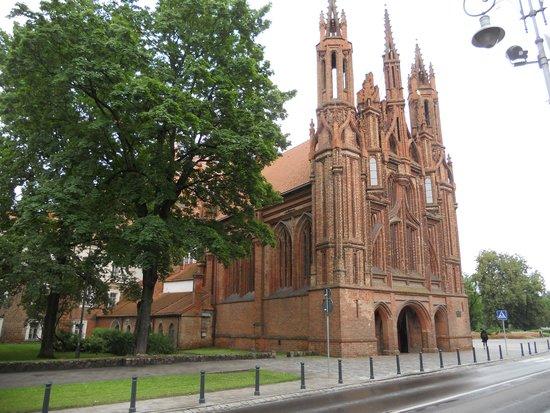 St. Anne's Church: prospetto  della chiesa di s. anna