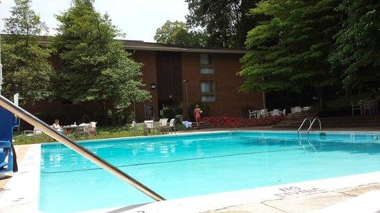 Radisson Hotel at Cross Keys: Pool Area June 2014