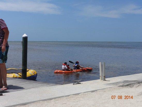 La Siesta Resort & Marina: Kayacs para pasear