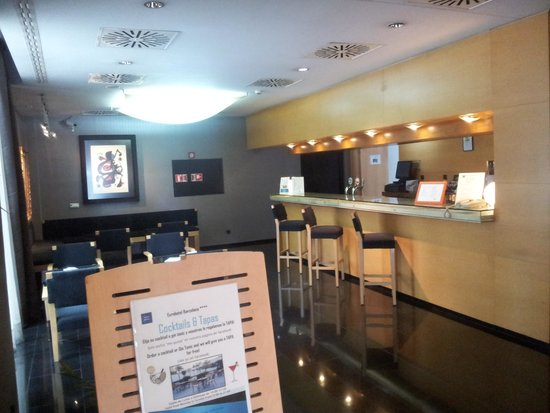 Eurohotel Diagonal Port : Bar