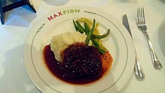 Max Fish: Flat Iron Steak