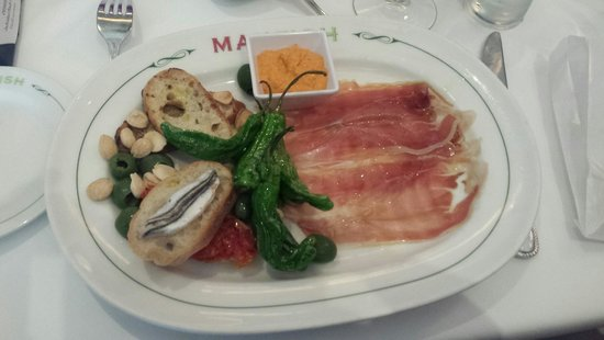 Max Fish : Tapas Appetizer