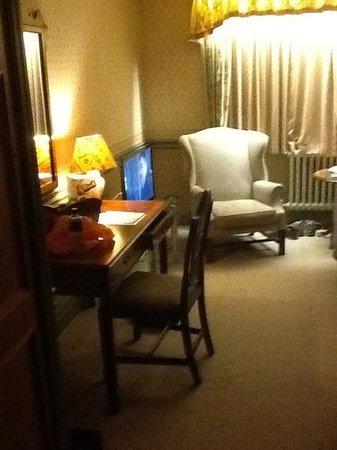Redworth Hall Hotel: cosey