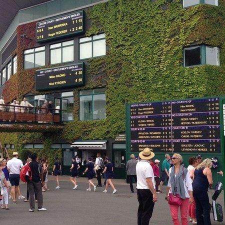 Wimbledon Lawn Tennis Museum: центральный корт
