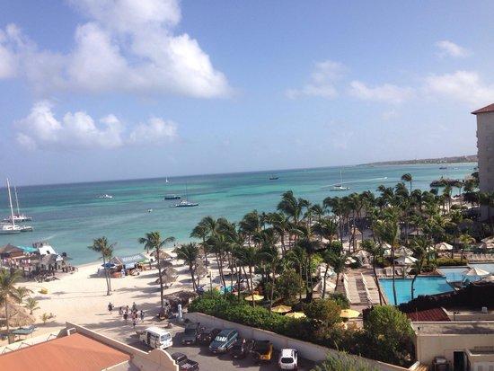 Occidental Grand Aruba All Inclusive Resort: Room view