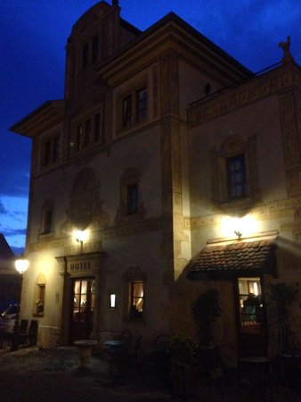 Hostellerie a la Ville de Lyon : Das Hotel