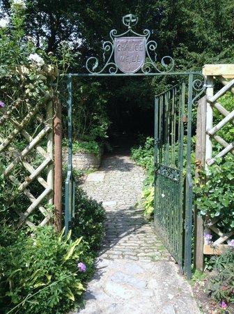 Chalice Well: Garden entrance