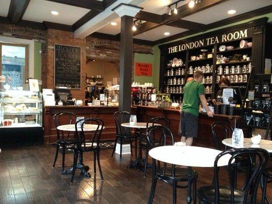 London Tea Room St Louis