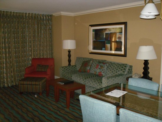 Hilton Grand Vacations on the Boulevard: Salotto