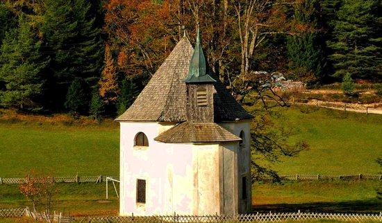 panorama verso la chiesetta