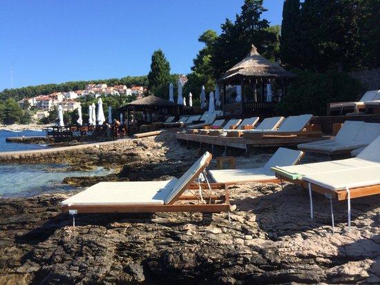 Hula hula beach bar: Comodissimi!!!!