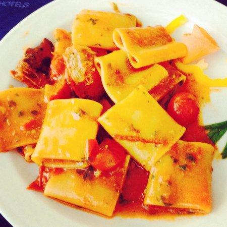 Borgo di Fiuzzi Resort & SPA: Paccheri allo scoglio: per me, il miglior piatto della settimana