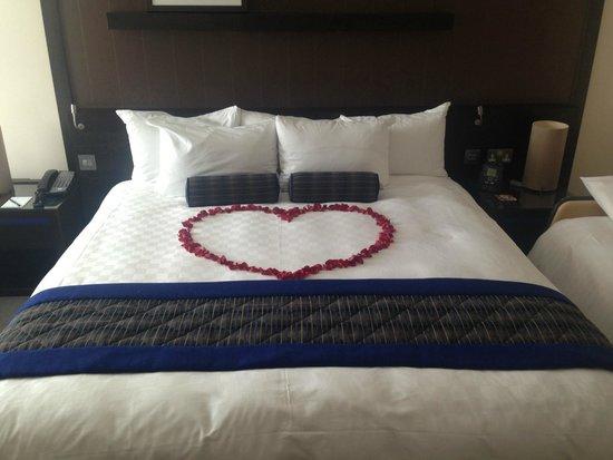 Hilton London Canary Wharf: nice touch