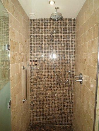 Lough Eske Castle, a Solis Hotel & Spa: The rainwater shower