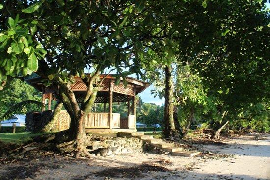 Kosrae Nautilus Resort: KNR gazebo