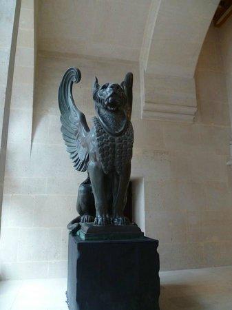Chateau de Pierrefonds : pièce de l'exposition sur la plomberie d'art