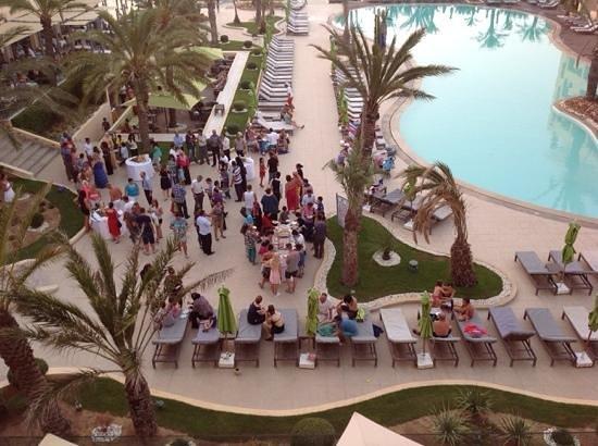 SENTIDO Rosa Beach : staff party