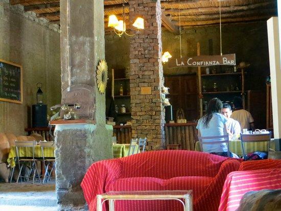 La Confianza Hotel - Lunahuana: Comedor - Bar