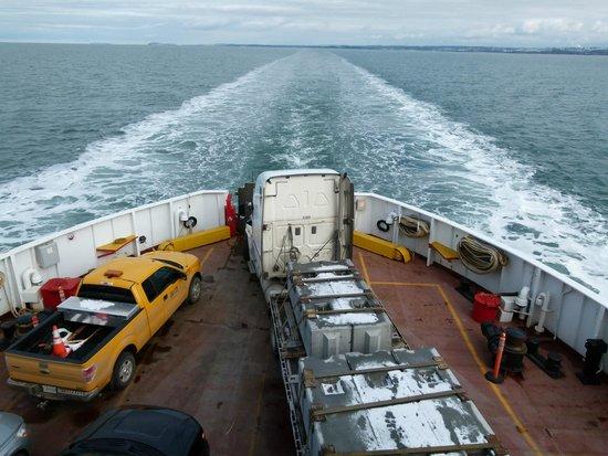 Riviere-du-Loup & Saint-Simeon Ferry: Fin de la traversée