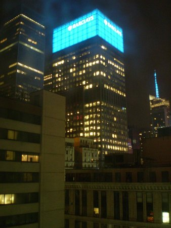 The Manhattan at Times Square Hotel : View from the hotel room.