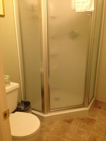Inn at Jim Thorpe : Bathroom in 2 bedroom suite