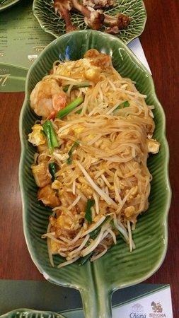 Restaurant Little Thai: Pad thai disk