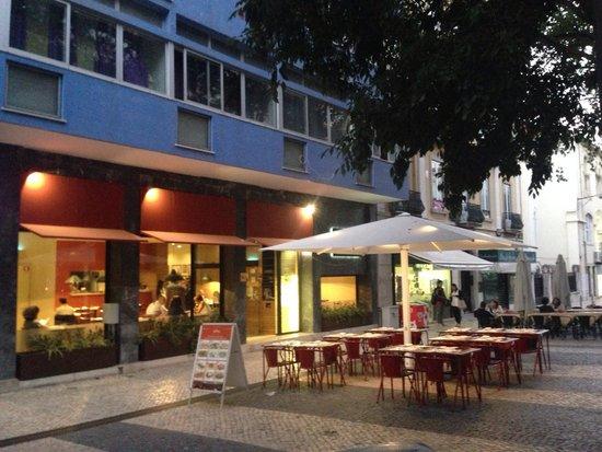 DELL 'ANIMA ristorante, pizzeria, tavernetta: View from the street