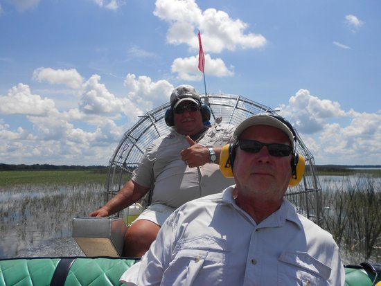 Wild Willy's Airboat Tours: Captain Duane