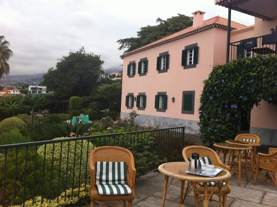 Quinta Sao Goncalo: Terrasse