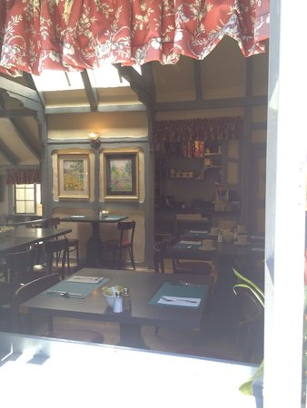 The Tuck Box: View through the window
