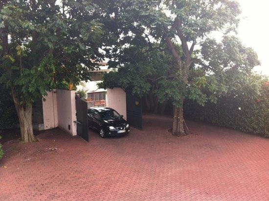 Quinta Sao Goncalo: Hier kann man parken