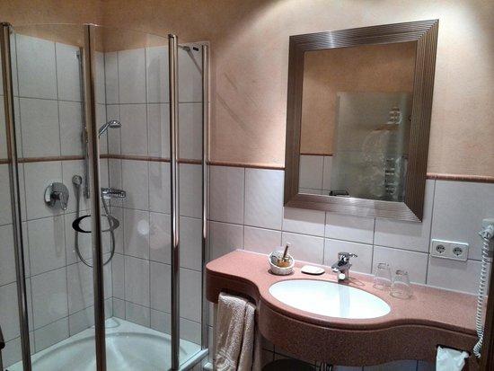 Hotel Restaurant Ochsenwirtshof : Badezimmer