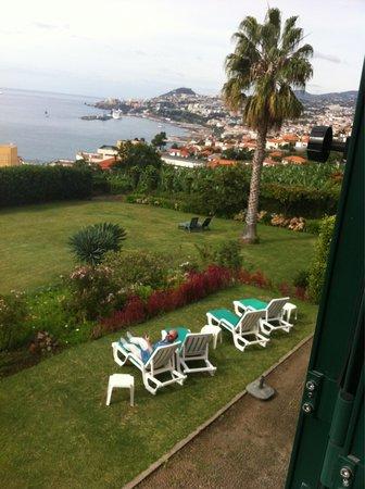 Quinta Sao Goncalo : Der Garten vom Zimmer aus