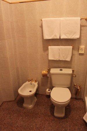 Hotel U Krale Karla (King Charles): Badrummet