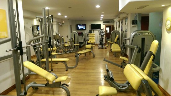 Augusta Spa Resort: gimnasio
