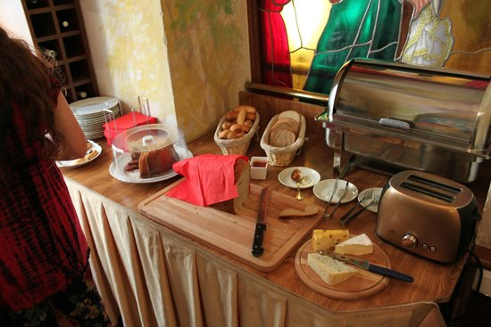 Hotel U Krale Karla (King Charles): Frukost