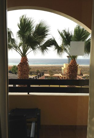 Barcelo Jandia Playa: Vue de la chambre (bloc 3 - 1e etage)