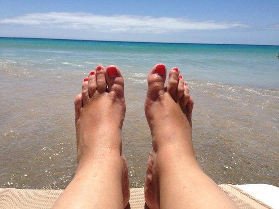 Occidental Jandia Playa: Transat les pieds dans l'eau :o)