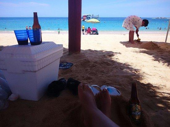 Chileno Beach: Ahhhh
