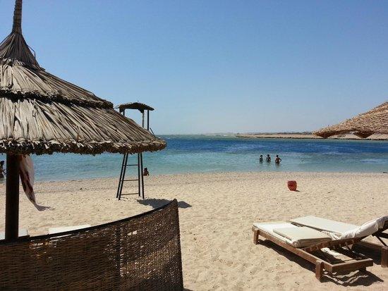 Port Ghalib Resort: spiaggia brixia