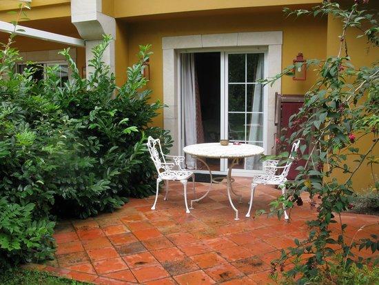 Hotel El Habana: Habitación con salida al jardín