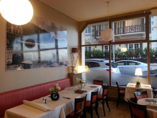 Restaurant le Vivier : salle intérieure