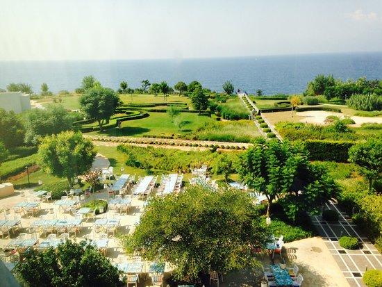 The Marmara Antalya: Wiew from revolving room