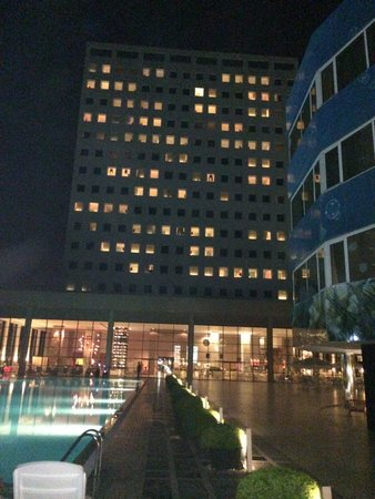 The Marmara Antalya: Main building at night