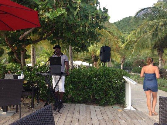 Hotel Riu Palace St Martin: Aperitivo canterino