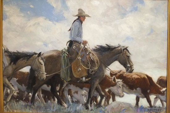 Buffalo Bill Historical Center : Painting exhibit