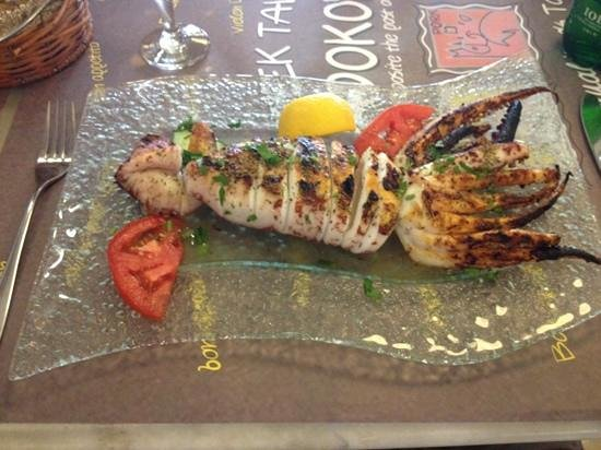 Ladokolla : Grilled squid