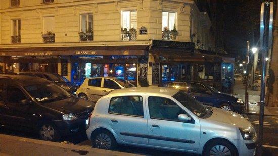 The Five Hotel: Brasserie near hotel
