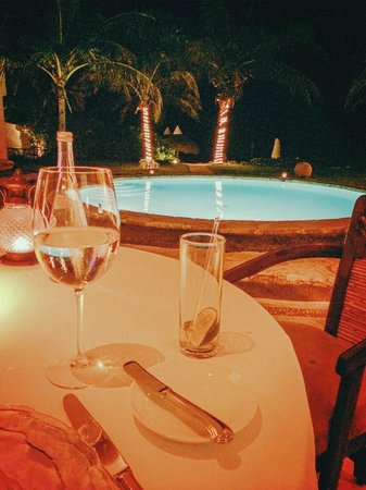 Pavo Real by the Sea: The view from our table