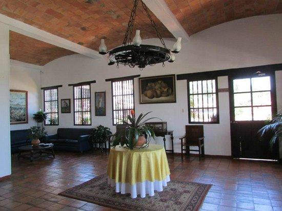 Hospederia Duruelo: recepcion